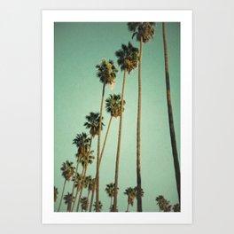 Vintage LA Art Print