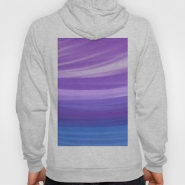 blue and violate wavy abstract Hoody