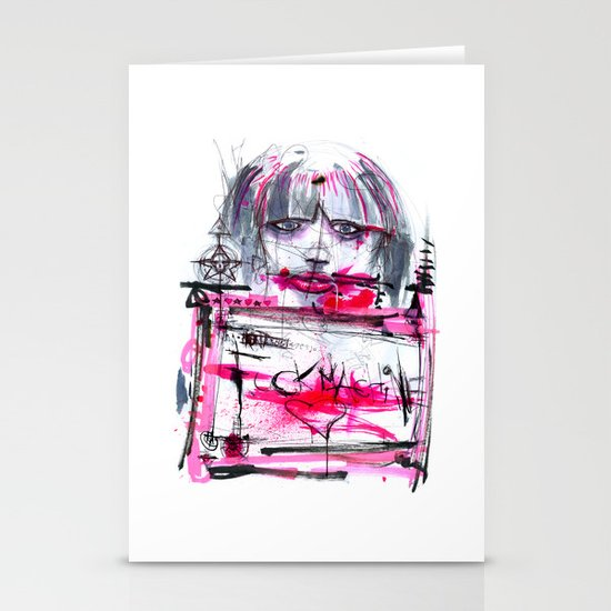 Fuck Machine Stationery Cards