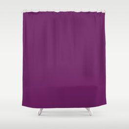 Introspective purple magic Shower Curtain