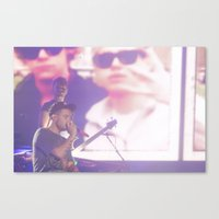 liam payne Canvas Prints featuring Liam Payne by Halle