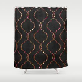 Vintage Chic New York Flat Shower Curtain