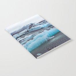 Jökulsárlón Glacier Lagoon, Iceland Notebook