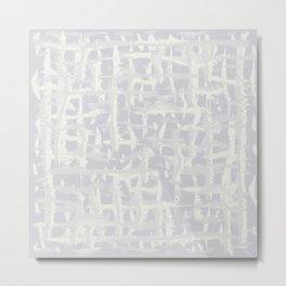 Tie-die, grey, light-grey, Tiedie, Tyedye, Tyedye, Tiedye, abstract, line, minimal, stripes. Metal Print