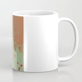 CROWS AND TREE (Red) Coffee Mug
