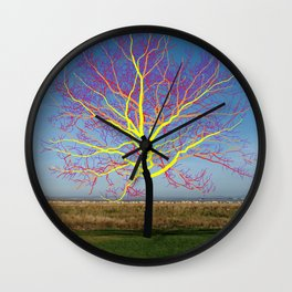 Onetree 02 Wall Clock