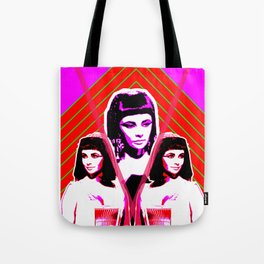 Elizabeth Taylor Goddess - Digital Collage Tote Bag