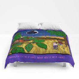 Solar Eclipse Dream Comforters