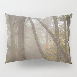 Misty Spruce Knob Forest Pillow Sham