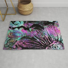 Dream Things Flower Abstract Rug