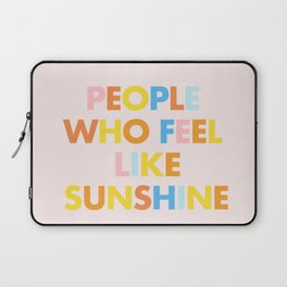 Sunshine People Laptop Sleeve