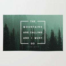 The Mountains are Calling Rug