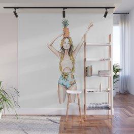 Anana | Fashion Illustration Wall Mural