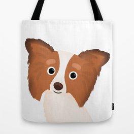 Papillon - Cute Dog Series Tote Bag