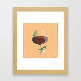 Wine Fairies 4 - Grenache Framed Art Print
