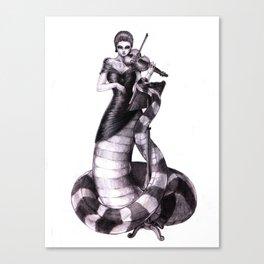 First Violin Canvas Print
