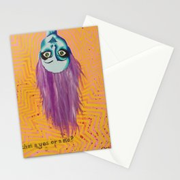 Is that a yes or a no? Stationery Cards