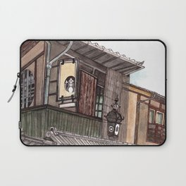 Kyoto, Japan - urban sketch Laptop Sleeve