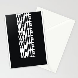 The DNA of colours - White Stationery Cards