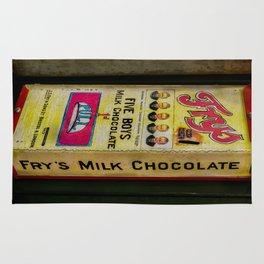 Vintage Chocolate Vending Rug