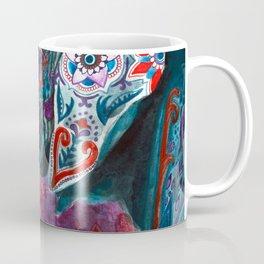 Elephant Indian Blossom Mandala Coffee Mug