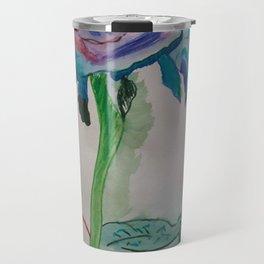 Flower rainbow inspiration modern paintings by Christian T. Travel Mug
