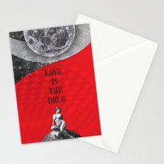 Love is the drug (Rocking Love series) Stationery Cards