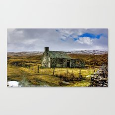 Derilict in the Yorks Dales Canvas Print