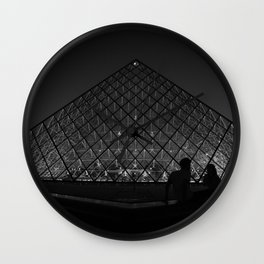 BNW Louvre - LG Wall Clock