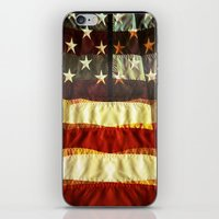 flag iPhone & iPod Skins featuring Flag by dvitt1027