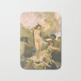 Birth of Venus by William Bouguereau Bath Mat