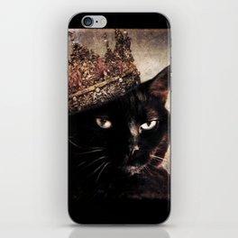Black Cat - Queen Cora iPhone Skin
