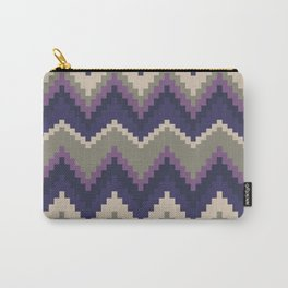 Jagged Violet Carry-All Pouch