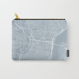 Philadelphia Map, USA - Slate Carry-All Pouch