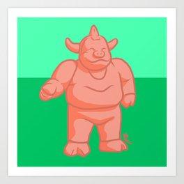 King Ton #032 Art Print