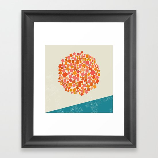 Gold Dust Framed Art Print