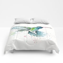 Hummingbird Flurry Comforters