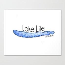 Otisco Lake Life Canvas Print