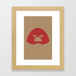 Juggernaut Helmet Framed Art Print