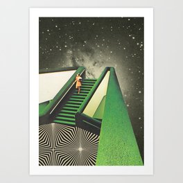 Délica Art Print