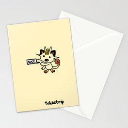 """Miaouss dit """"suce"""" Stationery Cards"""