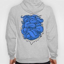 Blue Tentacles Hoody