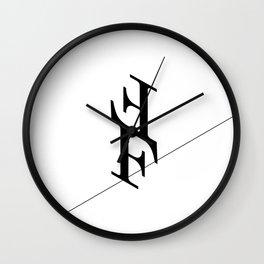 The Funambulists Wall Clock