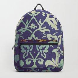 Olden damask pattern Backpack