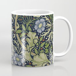 William Morris Seaweed Pattern Coffee Mug