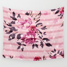 Poppy Pinkles Wall Tapestry