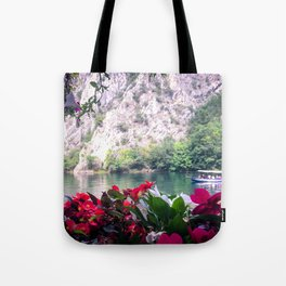 Matka Canyon, Macedonia Tote Bag