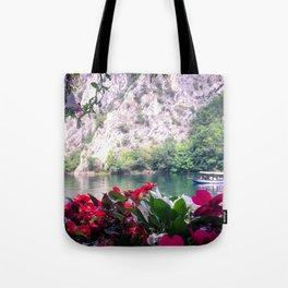 Matka Canyon, Macedonia Tote Bag