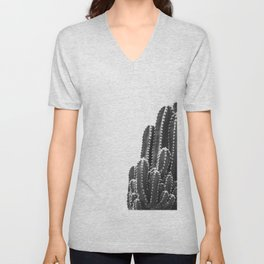 black cactus Unisex V-Neck