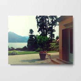 Como Villa Metal Print